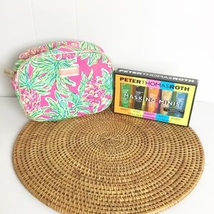 Lot Of 2 Lilly Pulitzer & Peter Roth Masks Set New